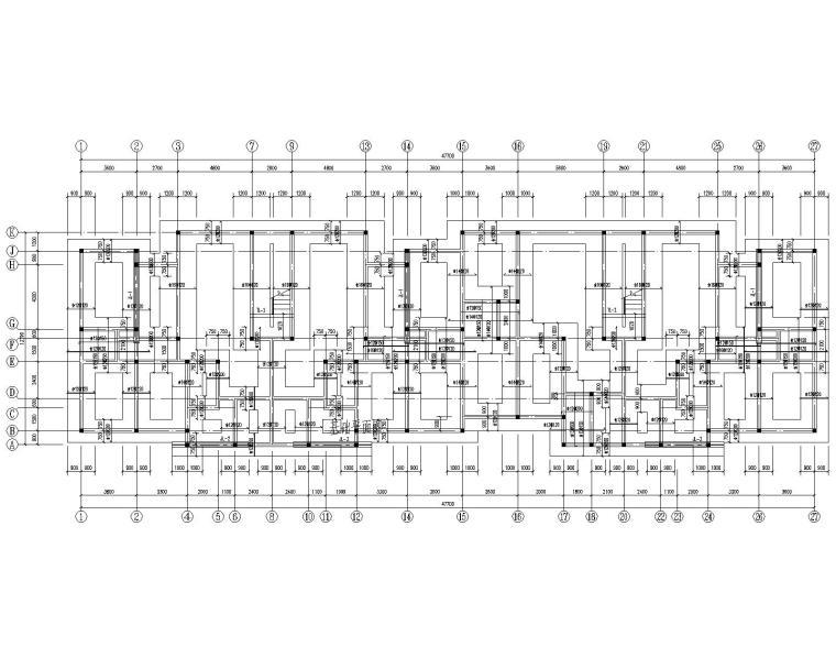 某六层住宅砖混结构施工图(CAD)