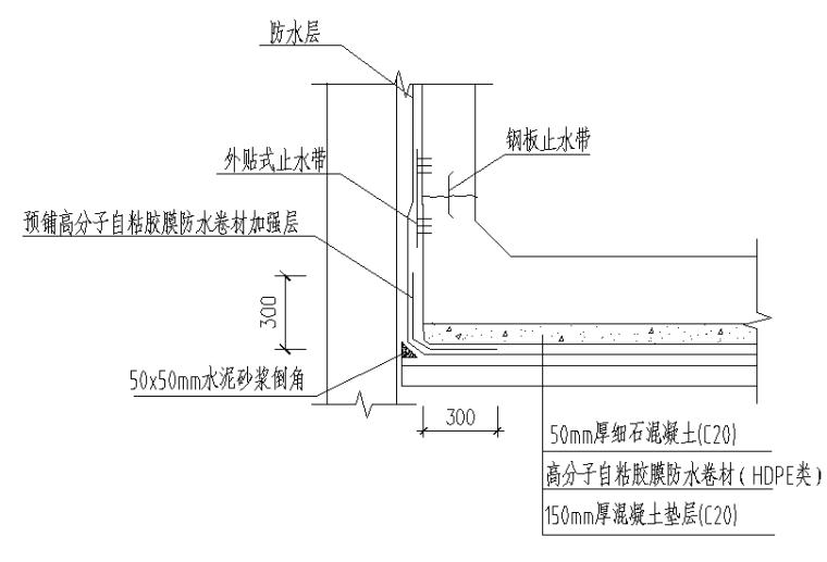 明挖地铁车站结构防水施工技术交底(详细)