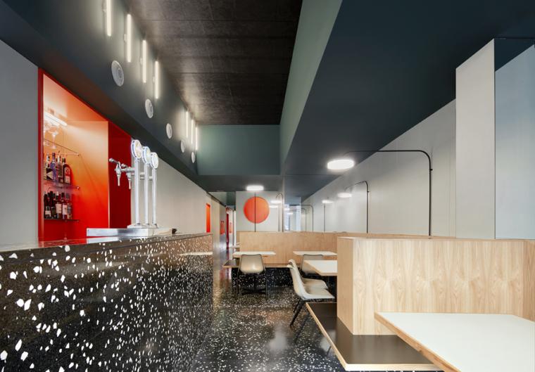 巴塞罗Massa披萨店设计效果图+JPG图纸