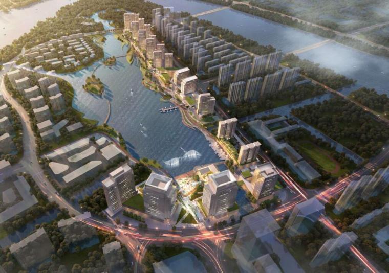 [浙江]湾头星湖滨湖地块综合规划设计