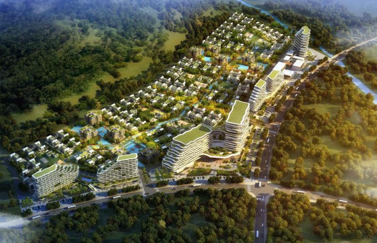 [海南]现代云谷三亚动漫产业基地概念方案