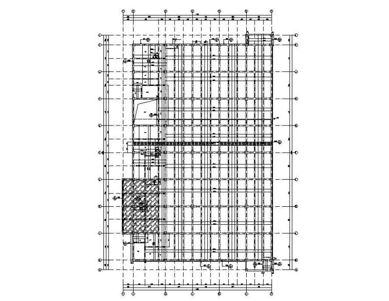 4层体校综合馆钢混框架结构施工图2015