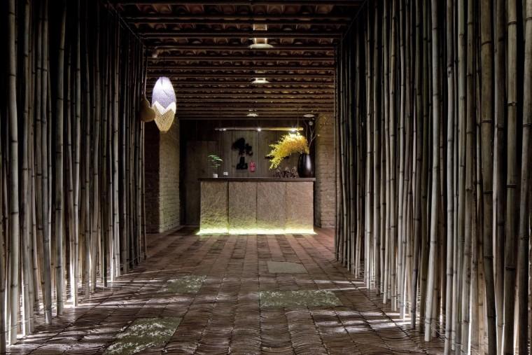 叙品茶室室内设计效果图+JPG平面