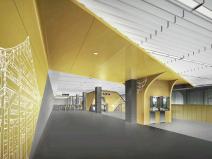 [北京]大兴线工程车站装修方案设计汇报PPT