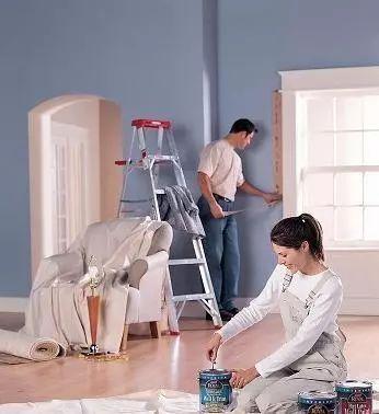 装修油漆施工工艺及注意事项