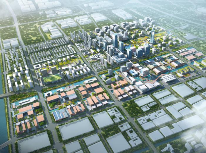 信息港小镇城市设计方案文本_PDF92页