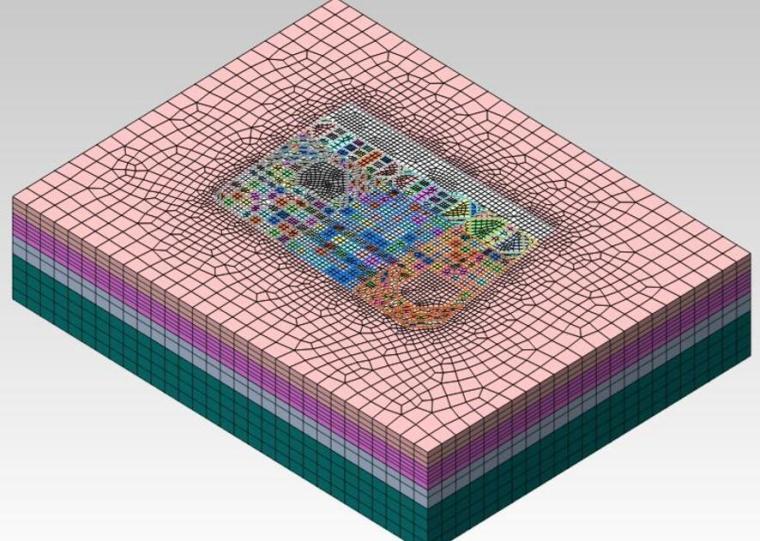 深大基坑群叠加扰动施工仿真技术介绍丨39页