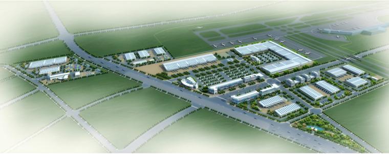宁波空港物流园区布局详细规划与研究