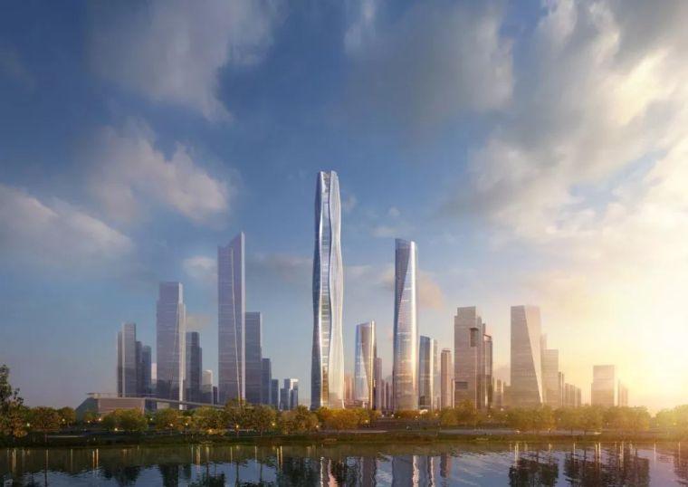 500米高,摩天大楼设计方案!南京新地标!
