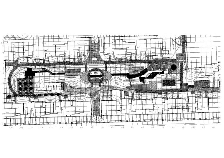 广东长葛金汇城市广场景观水电施工图