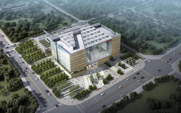 [重庆]某知名地产新总部办公楼概念方案设计
