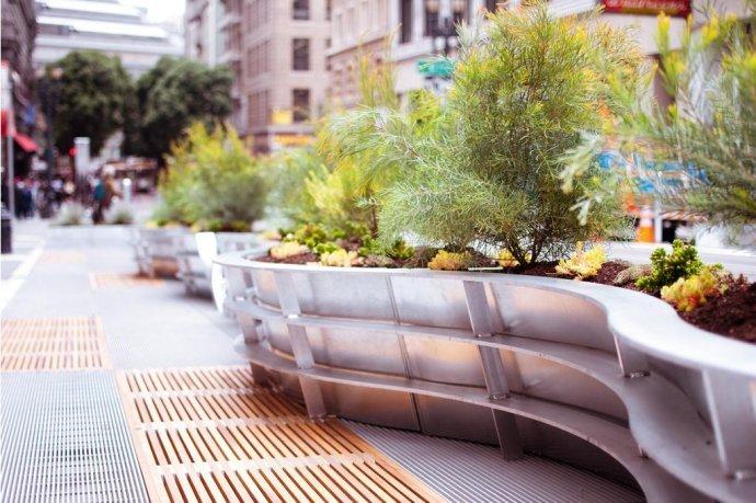 商业、广场、建筑,公共空间景观参考意向1
