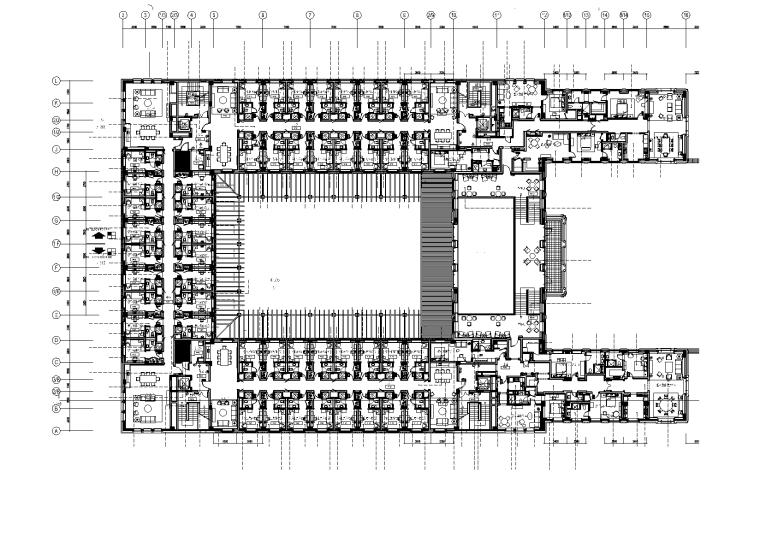 清华大学某学院弱电智能化图纸2014