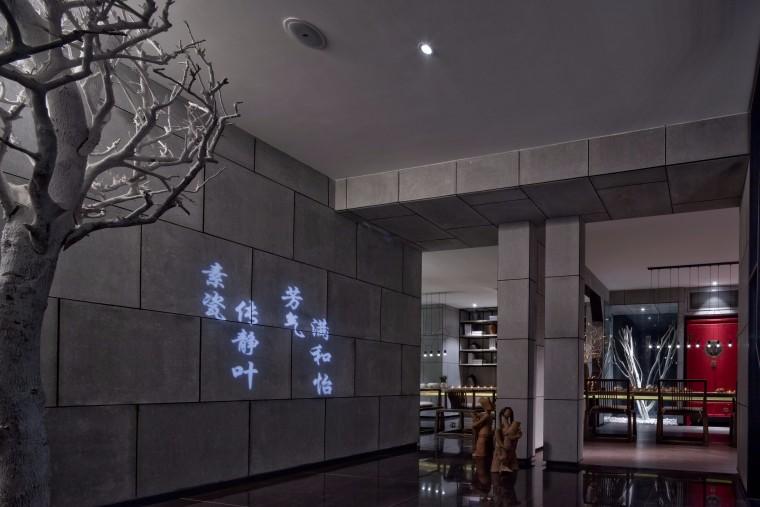 福建·合一茶馆设计效果图+JPG图纸