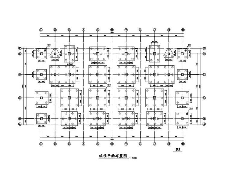 6层学校宿舍楼框架结构施工图2015