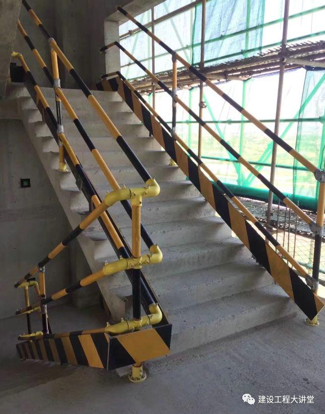 施工现场安全防护设置要点及实景图_18