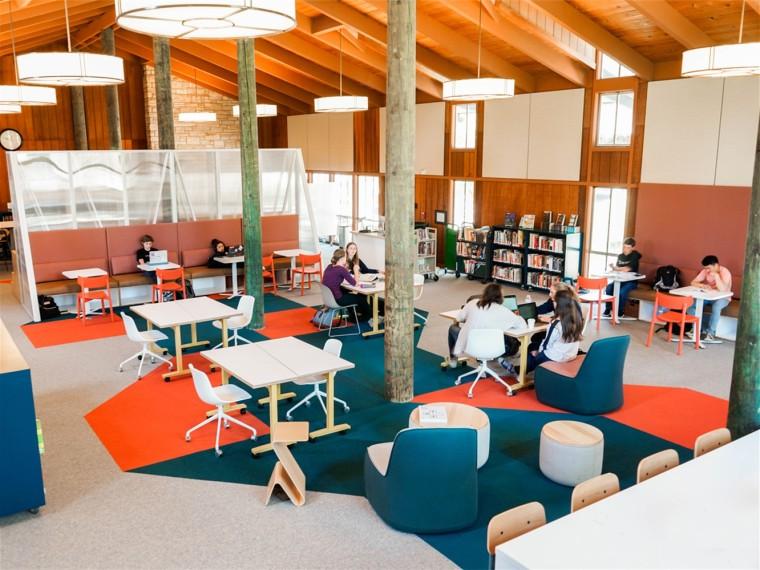 美国史蒂文森学校图书馆