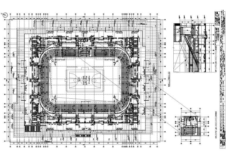 [江苏]天华_苏州市体育中心全套项目图纸