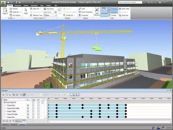 如何将Revit模型导入NavisWorks
