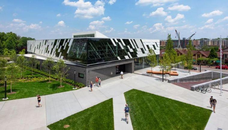 美国都柏林都市图书馆分馆