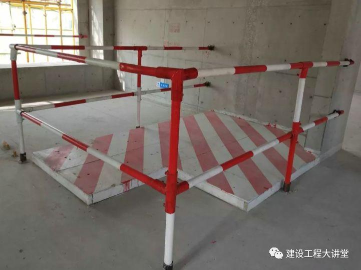 施工现场安全防护设置要点及实景图_30