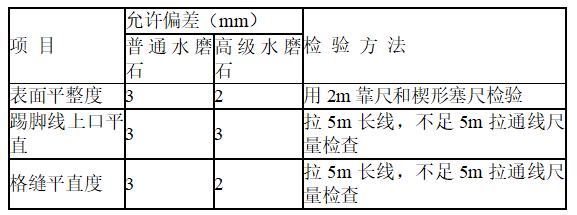 地铁站水磨石地面施工方案(内容详细)
