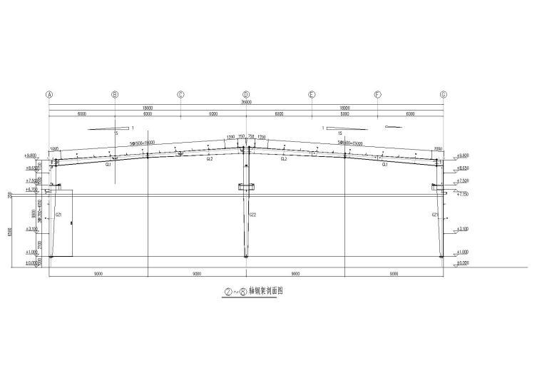 钢柱详图设计方案(CAD)