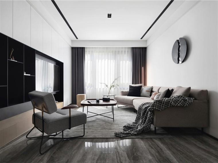 89㎡现代简约风的公寓