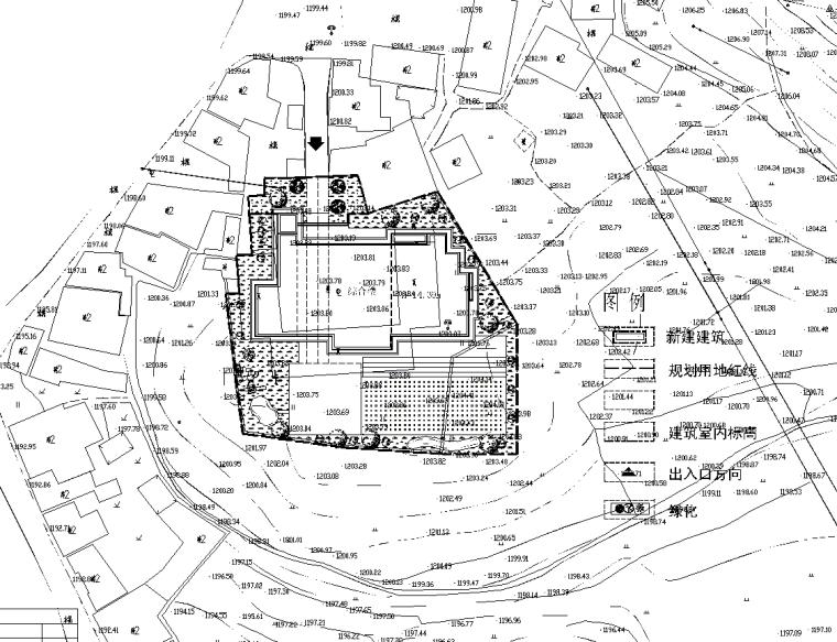 [贵州]蔡水幼儿园景观工程CAD施工图