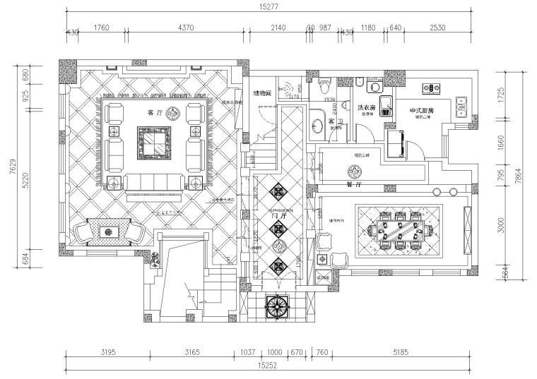 [重庆]蓝湖郡向生别墅装饰设计项目施工图