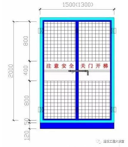 施工现场安全防护设置要点及实景图_37