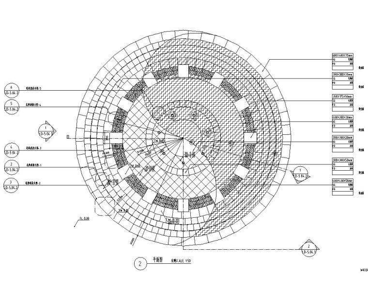 园林景观节点详图|水景施工图设计十六