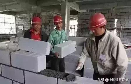 找到啦!加气混凝土砌块施工要点