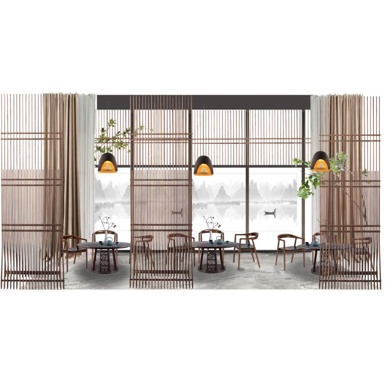 餐饮空间软装方案10套(二)