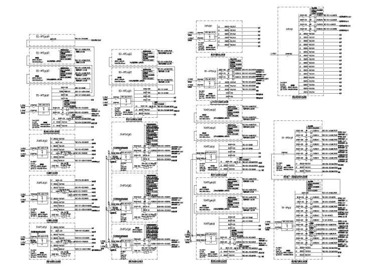 某集办公、住宅、幼儿园建筑群电气施工图