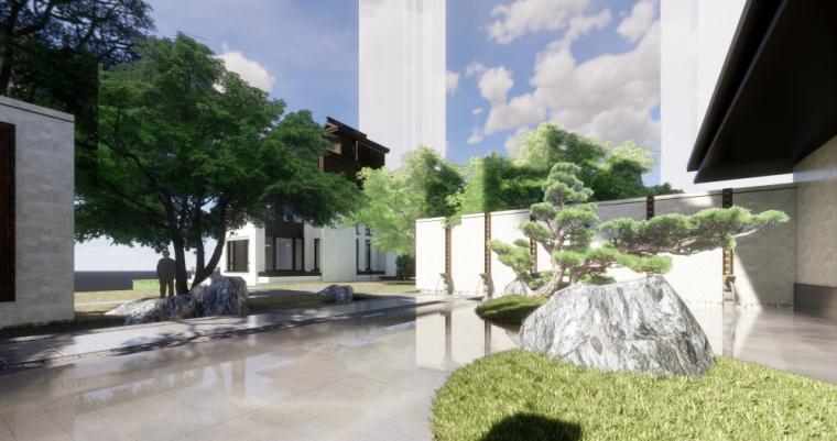 [广东]泰禾院子中式示范区建筑模型