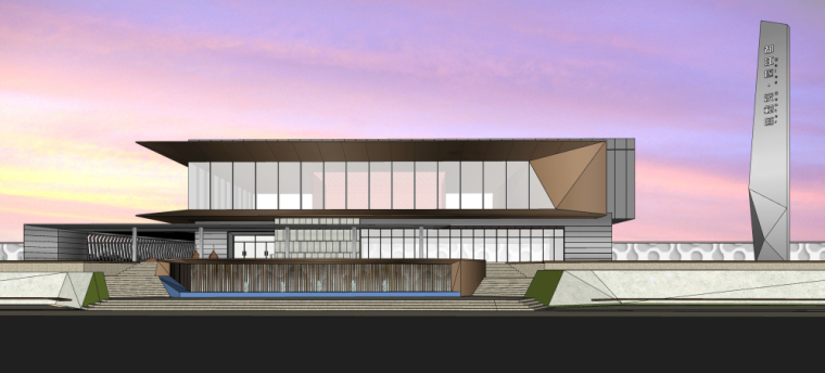 [四川]现代风格住宅示范区建筑模型设计