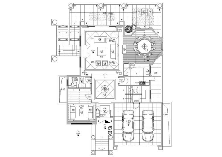 [广东]中山凯茵新城09区D户型別墅项目图纸