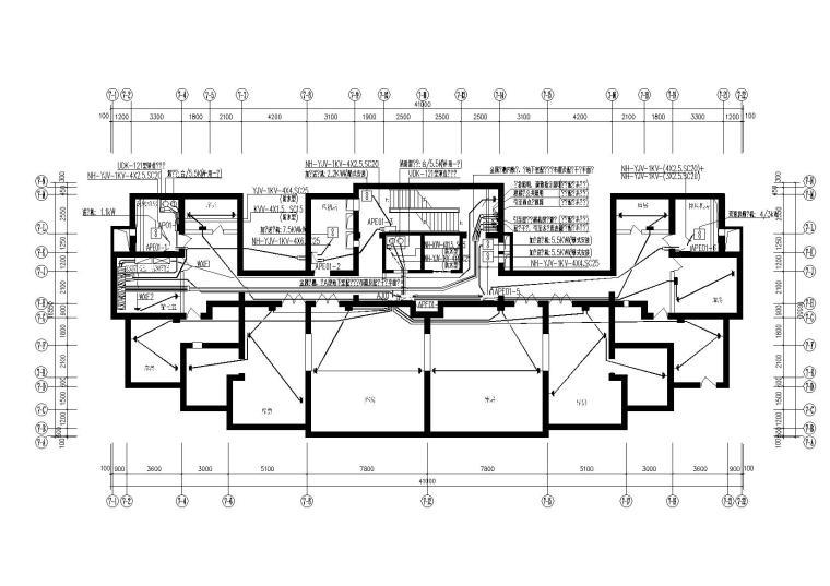 某建筑大学毕设_高层住宅区电气含设计说明