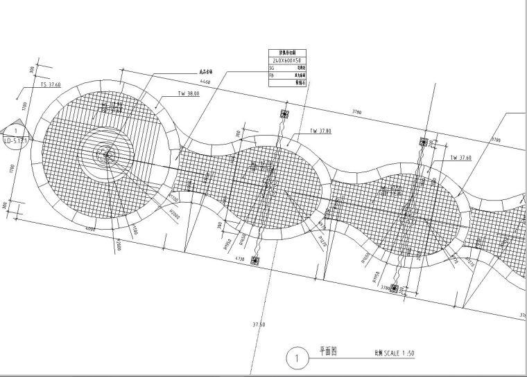 园林景观节点详图|水景施工图设计