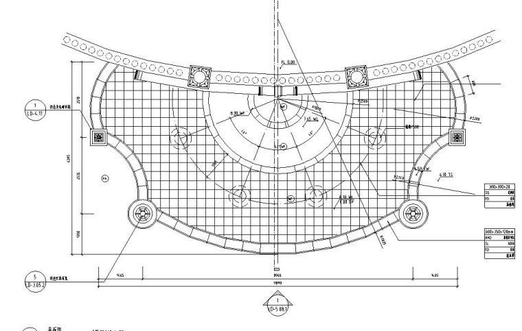 园林景观节点详图|水景施工图设计六