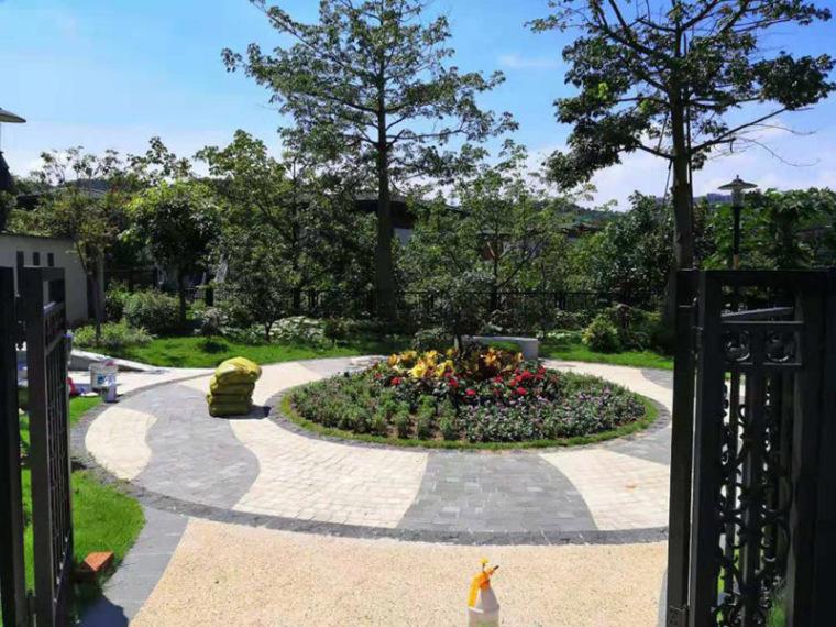 广州花都830㎡别墅花园景观设计,既有丰富