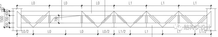 钢结构双向桁架的电算模拟_4