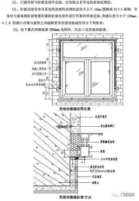 万科铝合金门窗监理手册,门窗工程一次弄清_10