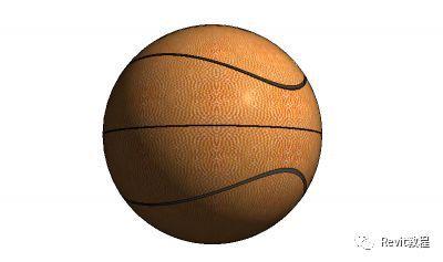 Revit籃球族的制作方法