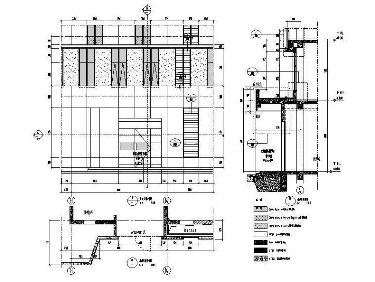 研发科技园幕墙施工图_玻璃幕墙/金属幕墙-幕墙大样图11