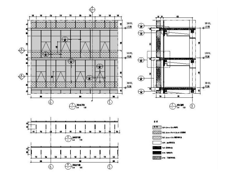 研发科技园幕墙施工图_玻璃幕墙/金属幕墙-幕墙大样图10