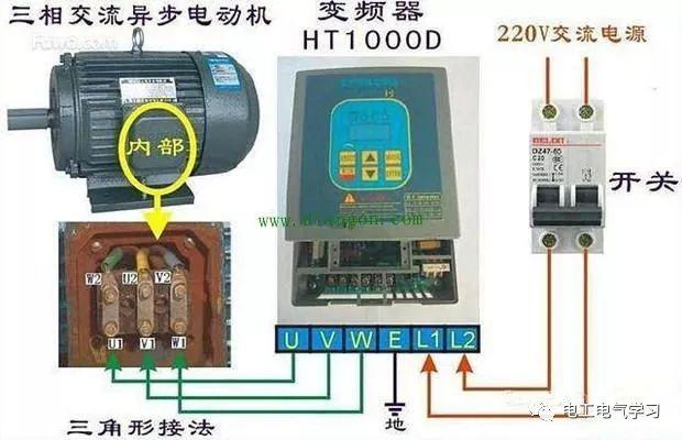 变频器接线和参数设置_1