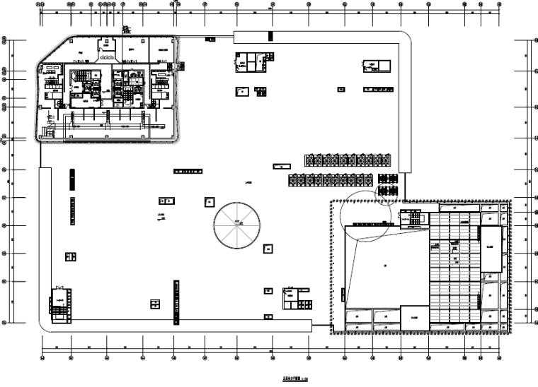 福建超高层办公、高层酒店及商业电气施工图