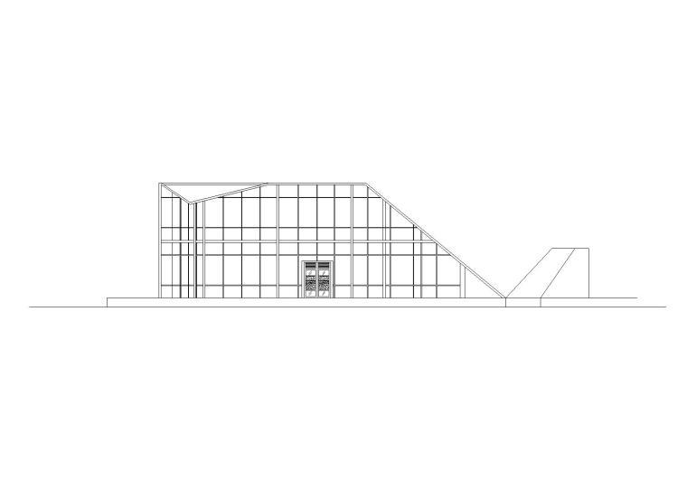 二层休息室建筑施工图设计